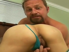 Blond milf Ashden enjoys getting her poke holes licked before being pounded hard