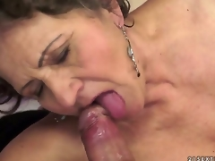Kata is the not quite all insatiable granny you can imagine. You can check out this hairy granny in action here as she swallows and gets drilled by that youthful schlong that makes her cum.