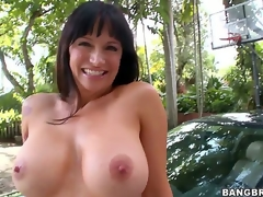 Are you ready to see one more cock loving mamma go insane Angie Noir admits being a bit shy as this is her First time in front of the camera, but shes a natural talent!