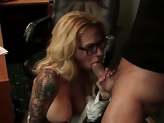 Stunning oral stimulation sex action with Alan Stafford and Sarah Jessie - it is what would make you turned on. Busty tattooed woman with amazing body is going to suck before cunnilingus.