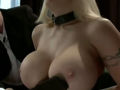 Candy Manson returns to porn after a 2 year break to do her First anal sex scene whilst in bondage!  In this role play update, Candy is in a D/s relationship with husband Mark