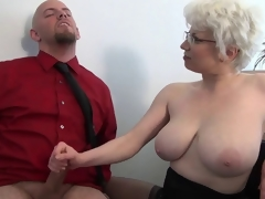 Office Milf Brutal Cook jerking by Cezar73