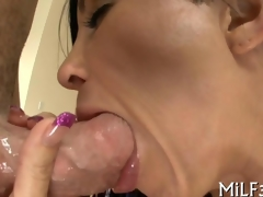 slobbering all over the dick and object ass fucked