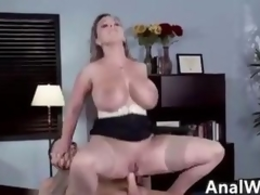 Nasty MILF With Big Confidential Doing Anal To Brashness