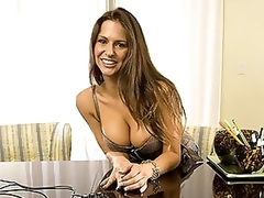 Breasty Latin babe MILF With a Hawt Arse Sucks and Copulates a Large Dong